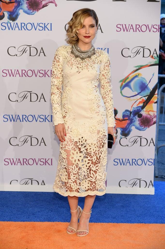 Sophia Bush at the 2014 CFDA Awards