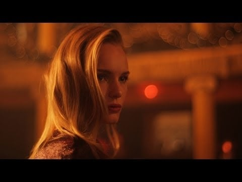 Kate Bosworth Walks in a Winterland for Topshop