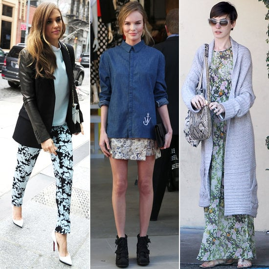 Florals for Spring may not be groundbreaking, but these celeb-approved ways are.
