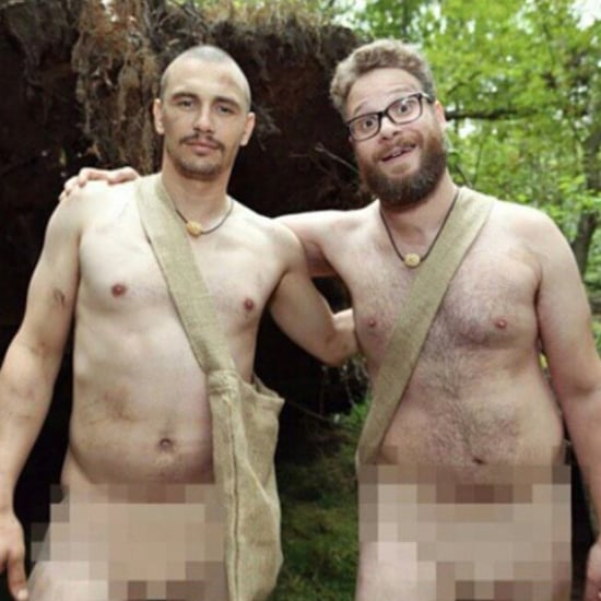 James Franco and Seth Rogen Take Nude Pictures in the Woods Together