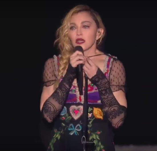Madonna Cries on Stage During Her Concert November 2015