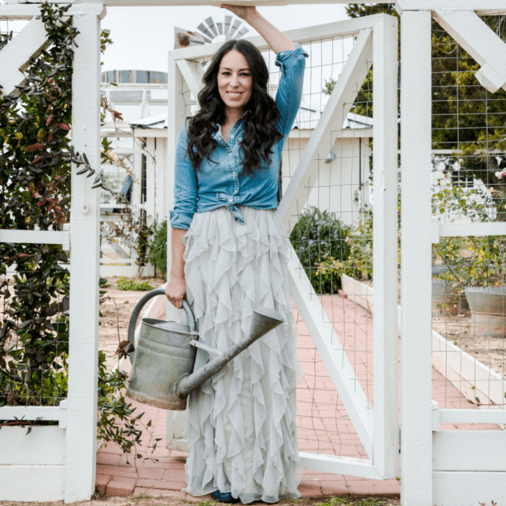pictures of joanna gaines in darling magazine popsugar home. Black Bedroom Furniture Sets. Home Design Ideas