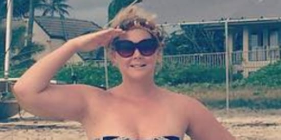 Amy Schumer Reminds Us She's 'An American Treasure' In Bikini Snap