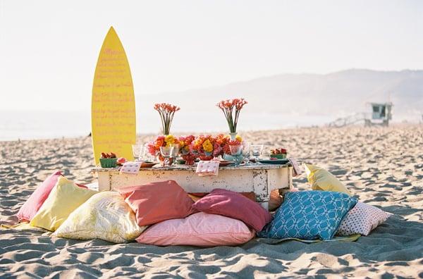 Surfboard Menu