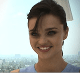 Interview With Miranda Kerr About Bikinis and Babies