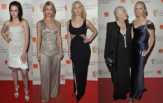 Photos of All the Women on the BAFTAs 2010 Red Carpet Featuring Kate Winslet, Kristen Stewart, Anna Kendrick, Claire Danes