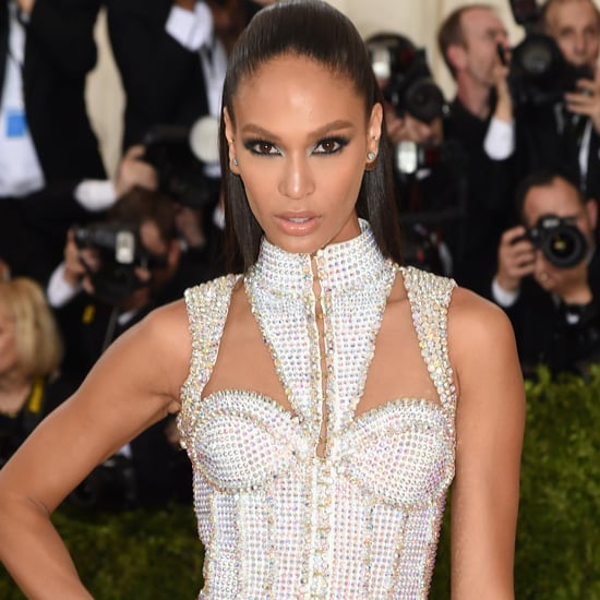 Joan Smalls Balmain Dress at Met Gala 2016