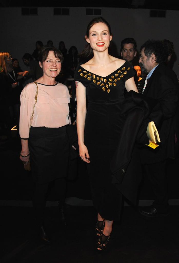 Janet Ellis and Sophie Ellis-Bextor at PPQ