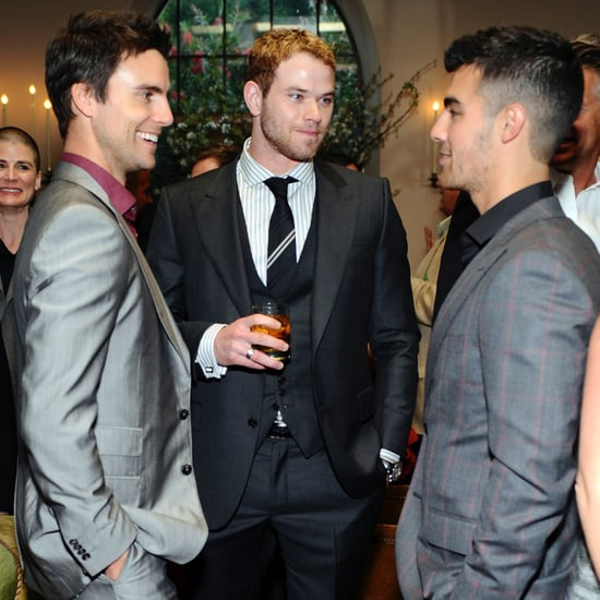 Pictures of Kellan Lutz and Colin Egglesfield