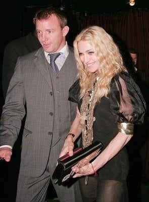Madge and Guy Are Nifty For Her Fifty