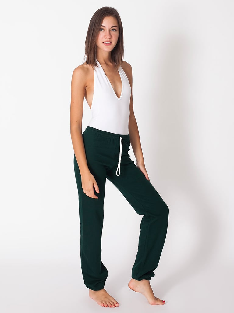 You can easily go from the couch to the video store in these American Apparel Sweatpants ($38).