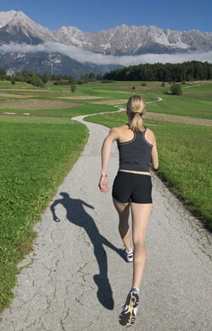 Running Tip: Keep Your Eyes on the Horizon