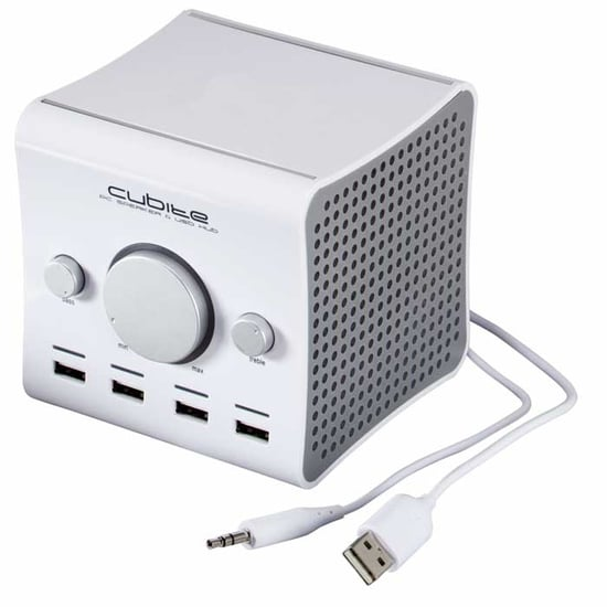 Two-In-One: Cubite USB Speaker And Hub