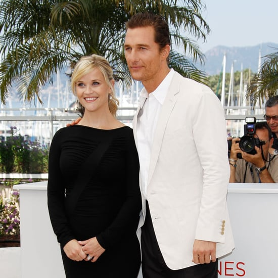 Reese Witherspoon & Matthew McConaughey Mud Cannes Pictures