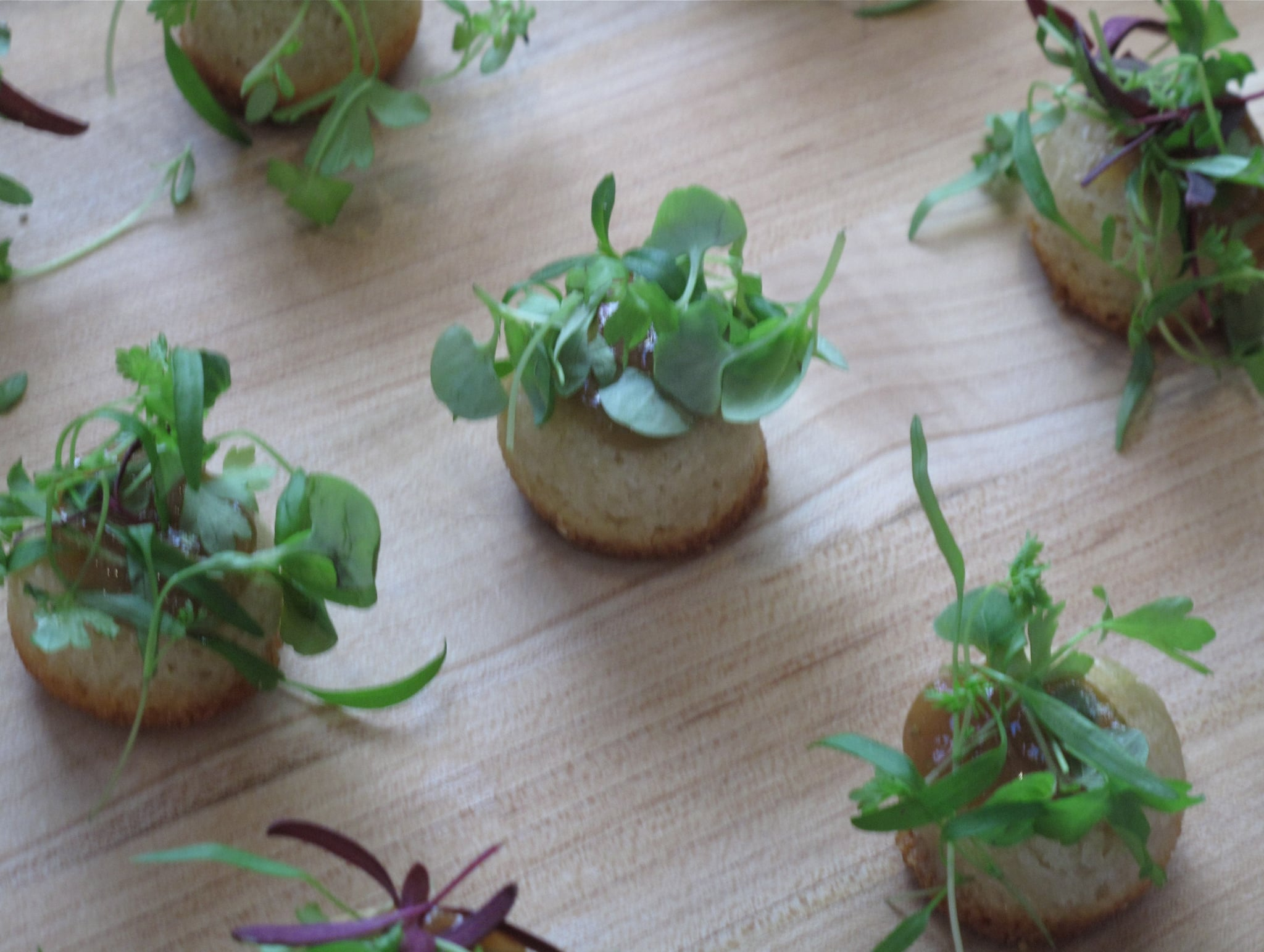 James Syhabout's Dish: Parmesan Financiers