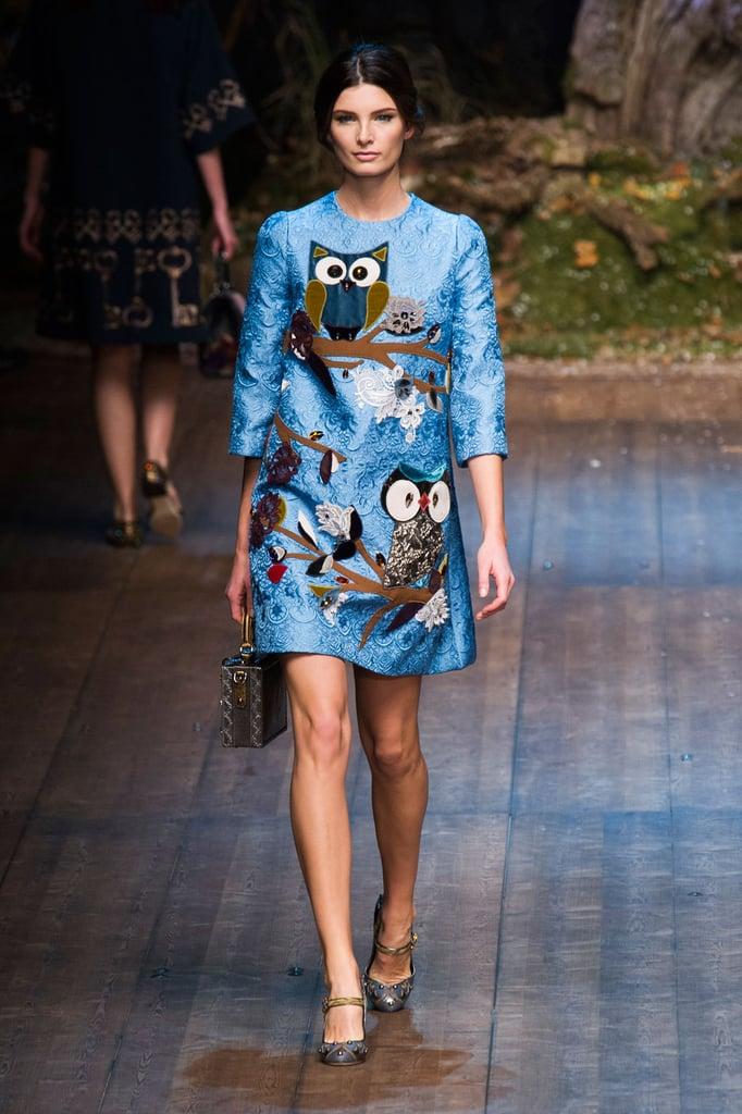 Фото модных платьев дольче габбана