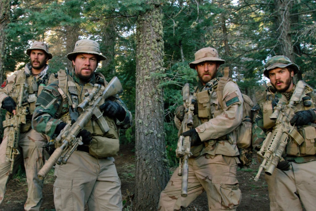 Lone Survivor  What it's about: Mark Wahlberg stars as the sole survivor of SEAL Team 10, a group that was attacked while on a mission to kill a Taliban leader in 2005. Why we're interested: We already know how this tragic story ends, but with support from Taylor Kitsch, Ben Foster, Eric Bana, Emile Hirsch, and Alexander Ludwig, I still want to see it unfold. When it opens: Dec. 27 Watch the trailer for Lone Survivor.