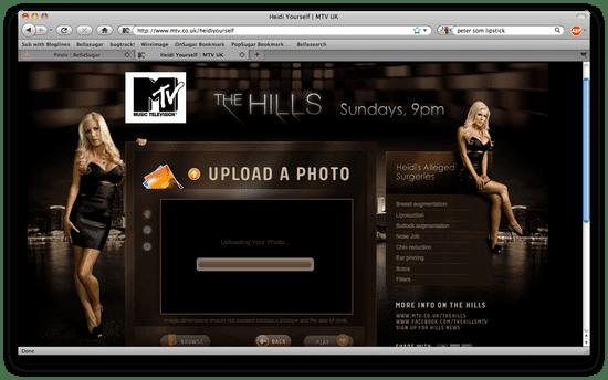 Heidi Yourself Application