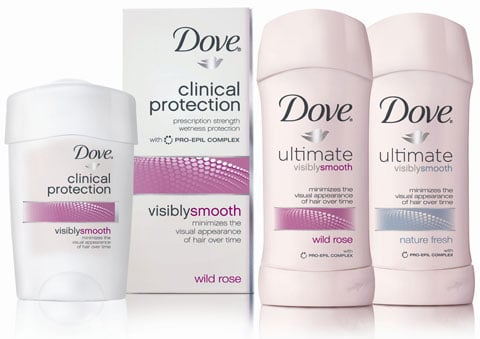 There's More Than Just the Face When It Comes to Skin Care: Dove Visibly Smooth Deodorant
