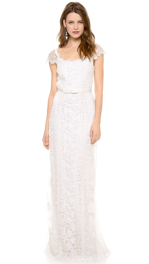 Collette Dinnigan Lace Paneled Gown ($3,700)