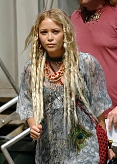 Mary-Kate Olsen on set of her new film 'The Wackness'