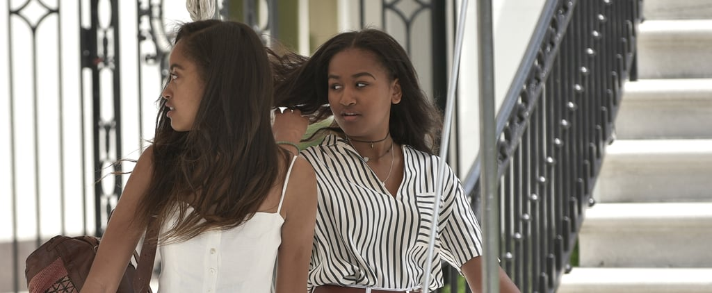 Sasha Obama Has Been Pairing This Necklace With Every Outfit She Owns