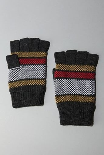 UO Bird's Eye Fingerless Gloves ($18)