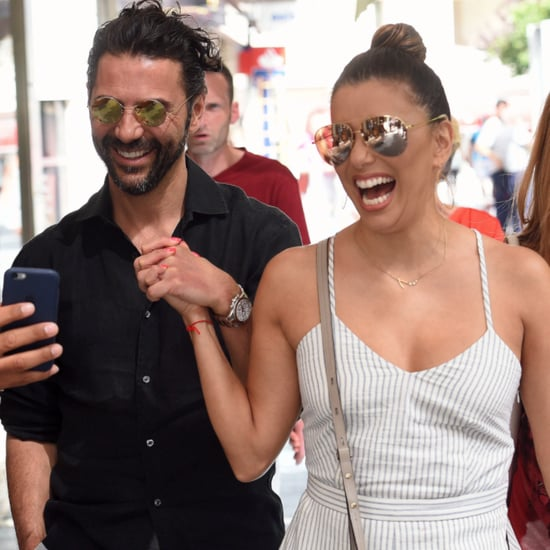 Eva Longoria and Jose Antonio Baston PDA in Spain 2016