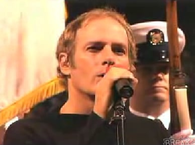 """Michael Bolton Doesn't Know """"Star Spangled Banner"""""""
