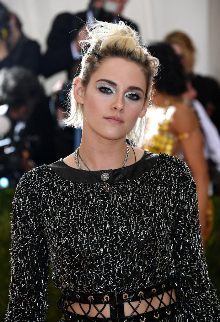 Kristen Stewart Just Won the Eye Shadow Game at the 2016 Met Gala