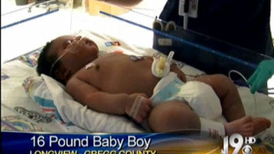 16-pound Baby Born in Texas