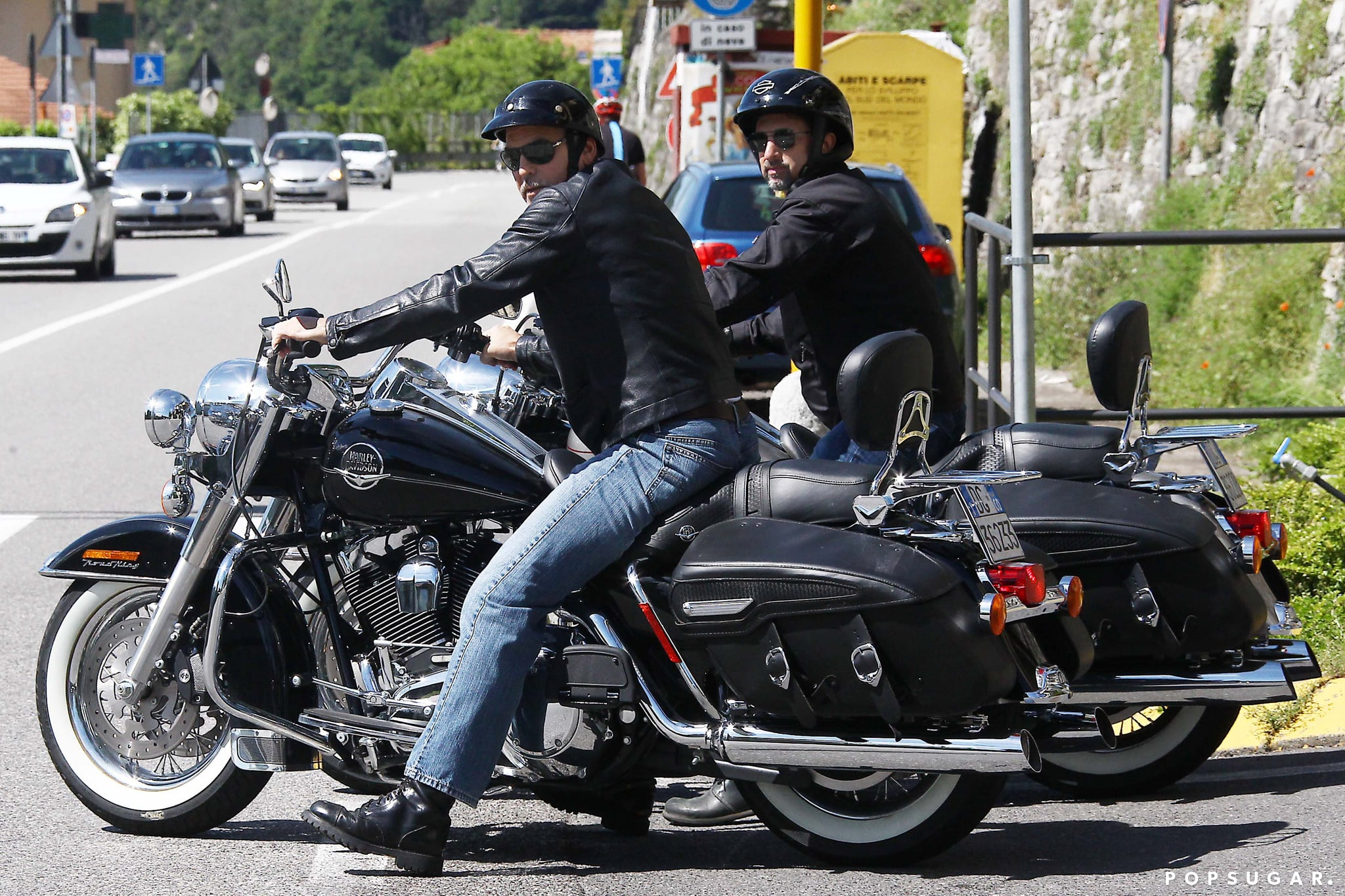 George Clooney and Matt Damon Have a Boys Weekend in Lake Como