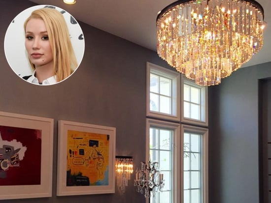Celebs at Home: See Jennifer Hudson's Closet, Iggy Azalea's New Digs and More!