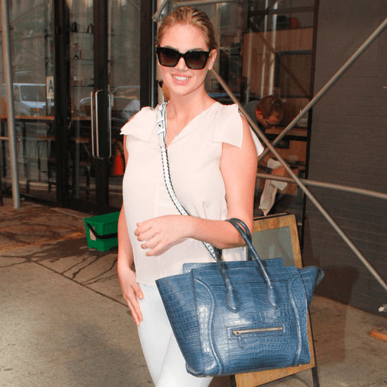 Kate Upton Wearing Loafers