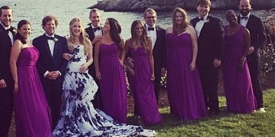 This Lucky Bride Nabbed Sarah Jessica Parker As A Bridesmaid