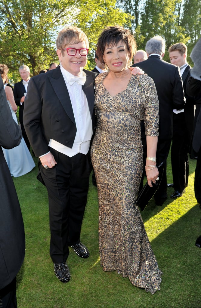 Elton John and Dame Shirley Bassey