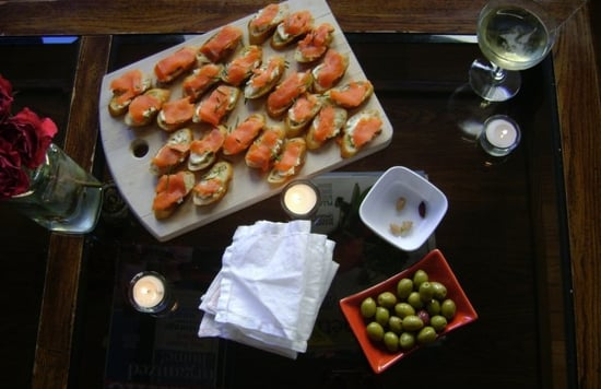 Chive Tartines With Smoked Salmon Recipe