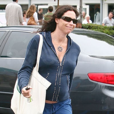 Pregnant Minnie Driver Out in LA