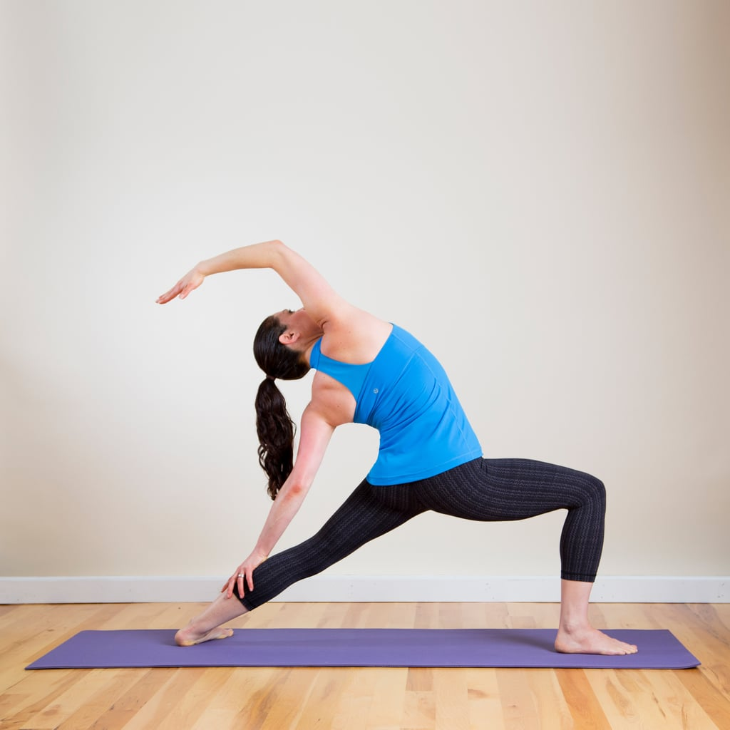 Crescent Moon Pose (Reverse Warrior)