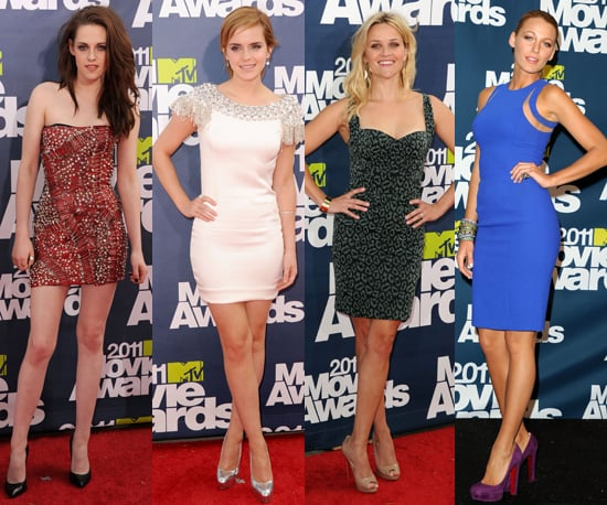 Best-Dressed Celebs at 2011 MTV Movie Awards 2011-06-05 21:00:00