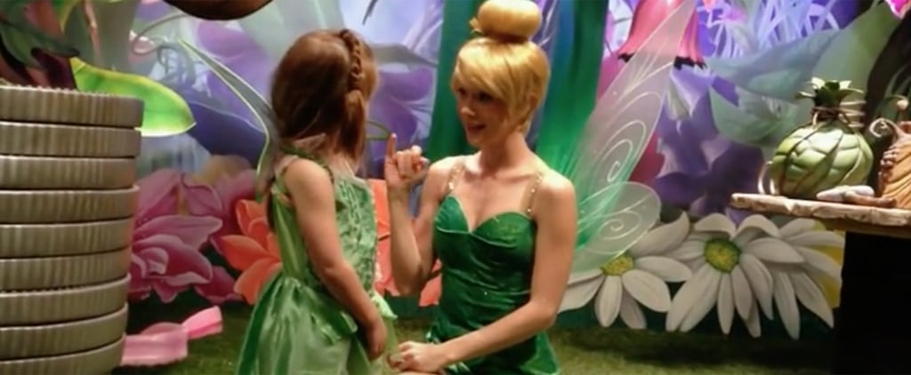 This Deaf Girl's Reaction to Tinkerbell Signing Will Warm Your Heart