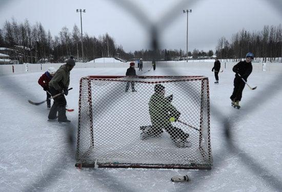 Get Your Vitamin H: Outdoor Hockey