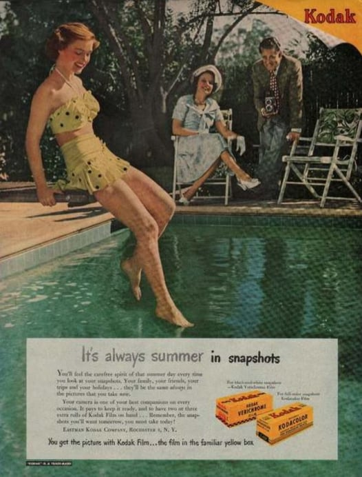 Relive your Summer days with snapshots.