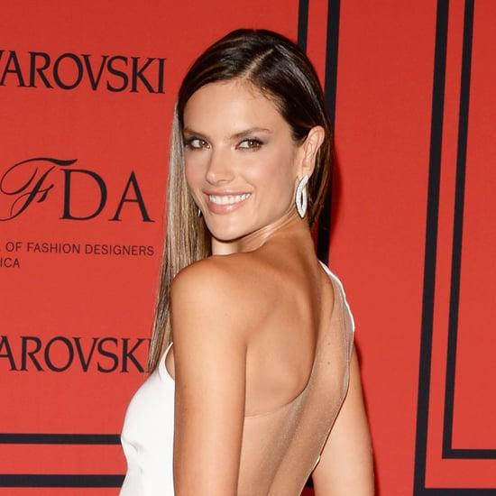 Alessandra Ambrosio Hair at CFDA Awards 2013