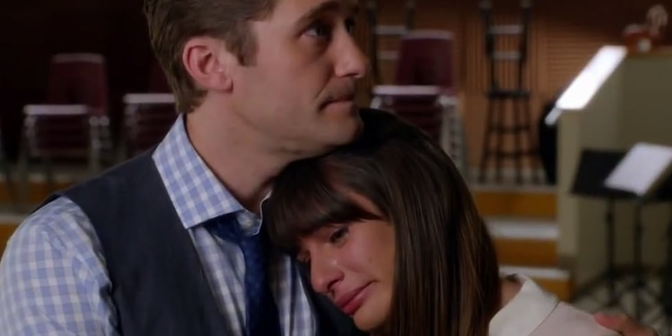 were finn and rachel from glee dating in real life