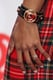 Kat Graham opted for almond-shaped nails at an iHeartRadio Music Festival press event.