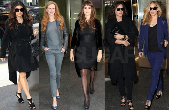 Photos of Nicole Kidman, Kate Hudson, Fergie, Penelope Cruz, Judi Dench, Daniel Day-Lewis, Marion Cotillard in NYC