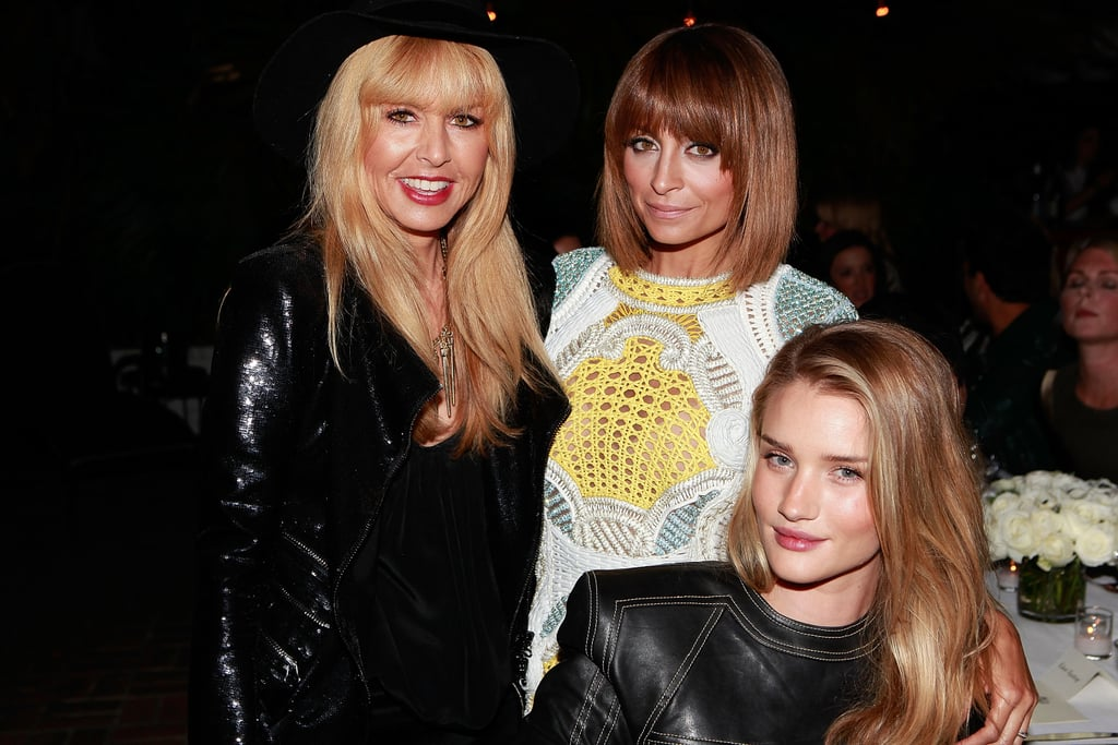 Rachel Zoe chatted with Nicole Richie and Rosie Huntington-Whiteley.