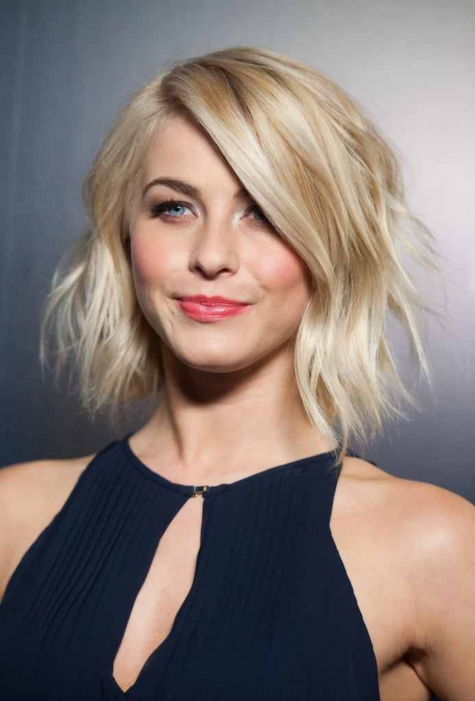 Julianne Hough is a fan favorite on Pinterest. Out of all her many versatile bob looks, this texturized wavy hairdo was the winner.