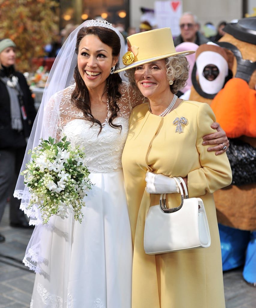 Ann Curry was Kate Middleton to Meredith Vieira's Queen Elizabeth in NYC in 2011.